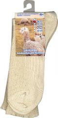 Alpakka unisukka luonnonvärinen 46-48 1 pari