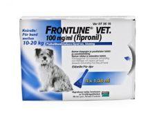 FRONTLINE VET 100 mg/ml paikallisvaleluliuos 4x1,34 ml