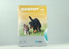 EXSPOT VET 715 mg/ml paikallisvaleluliuos 6x1 ml